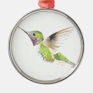 Hummingbird Metal Ornament