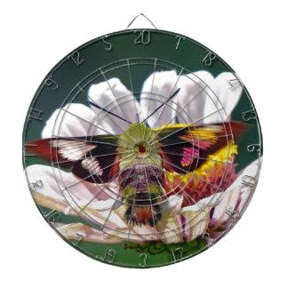 Hummingbird Moth Dartboard