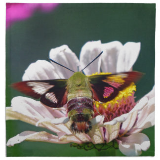 Hummingbird Moth Napkin