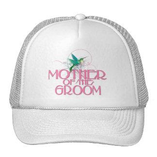 Hummingbird Mother of the Groom Trucker Hat
