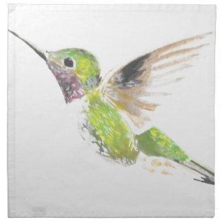 Hummingbird Napkin