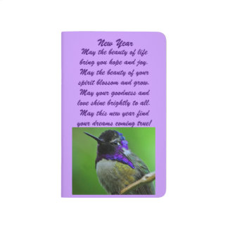 Hummingbird New Year Journal