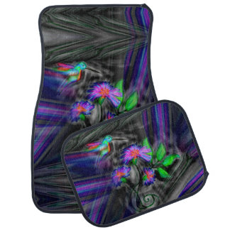 Hummingbird Night Flight Car Mats Set