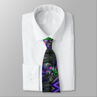 Hummingbird Night Flight Tie