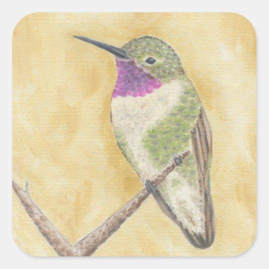 Hummingbird on a Branch sticker