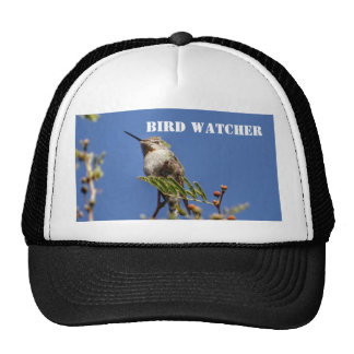 Hummingbird on Branch by SnapDaddy Trucker Hat