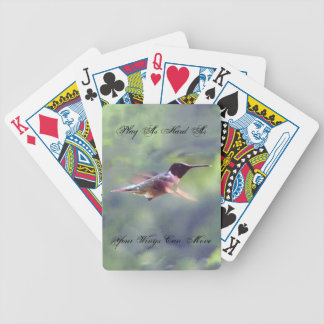 Hummingbird Poker Playing Cards