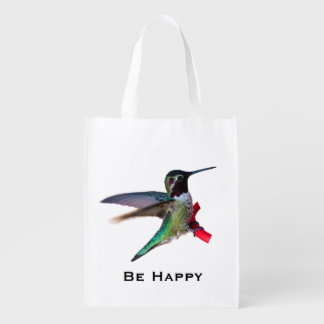 hummingbird Reusable Bag - Designs C and D