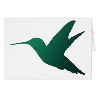 Hummingbird Silhouette Notecard