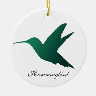 Hummingbird Silhouette Ornament