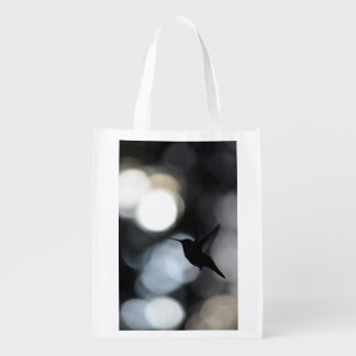Hummingbird Silhouette Shopping Bag, Tote