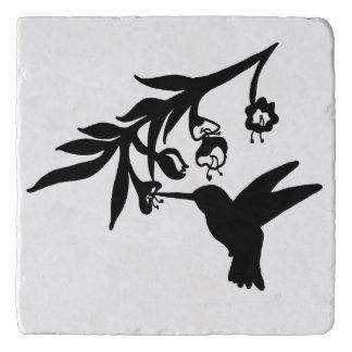 Hummingbird Silhouette Trivet