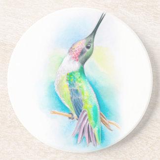 Hummingbird Singing Coaster