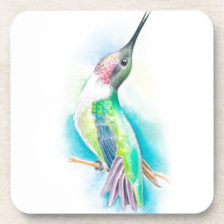 Hummingbird Singing Drink Coasters