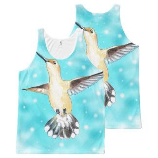 Hummingbird Sky All-Over-Print Tank Top