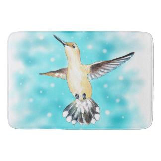 Hummingbird Sky Bathroom Mat