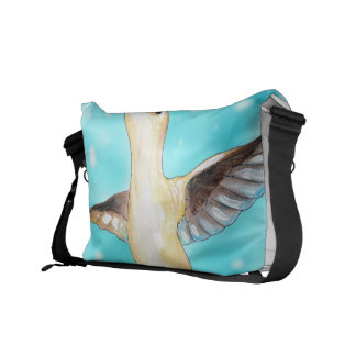 Hummingbird Sky Courier Bag