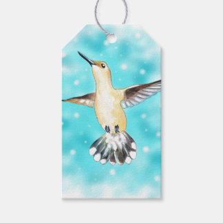 Hummingbird Sky Gift Tags
