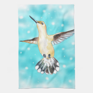 Hummingbird Sky Kitchen Towel