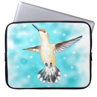Hummingbird Sky Laptop Sleeve