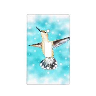 Hummingbird Sky Light Switch Cover