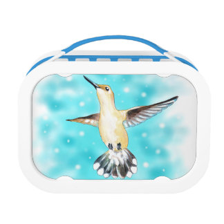 Hummingbird Sky Lunch Box