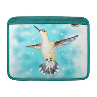 Hummingbird Sky MacBook Sleeve