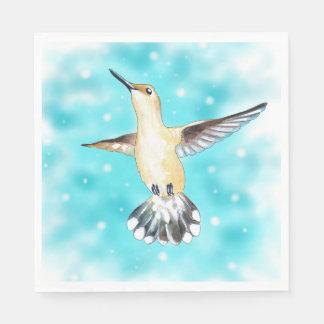 Hummingbird Sky Paper Napkin