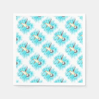 Hummingbird Sky Paper Napkins