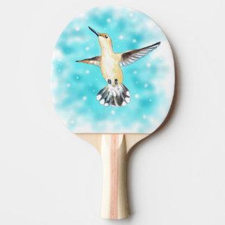 Hummingbird Sky Ping Pong Paddle