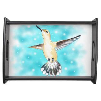 Hummingbird Sky Serving Tray