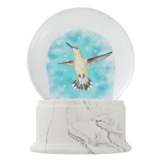 Hummingbird Sky Snow Globe