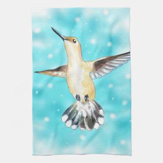 Hummingbird Sky Towels