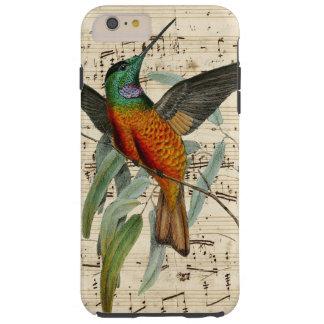 Hummingbird Song Tough iPhone 6 Plus Case