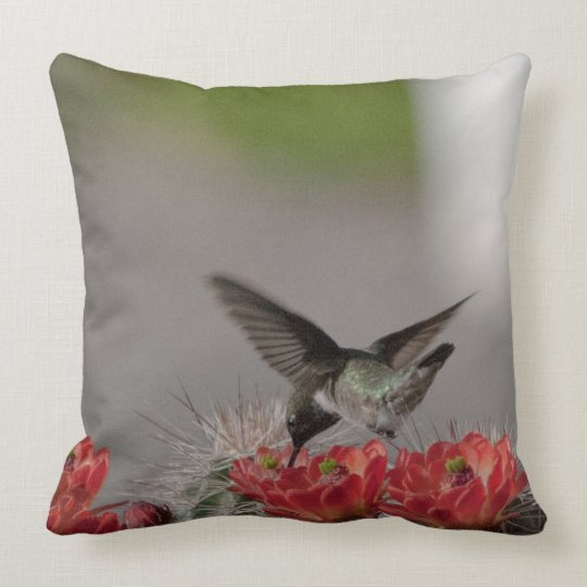 Hummingbird Throw Throw Pillow