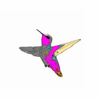 Hummingbird Tree Ornament Photo Sculpture Ornament