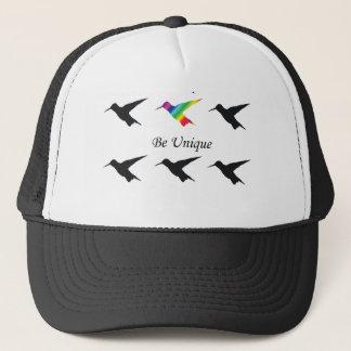 "Hummingbird TShirt ""Cultivate Optimism"" Trucker Hat"