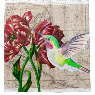 Hummingbird Tulips Map