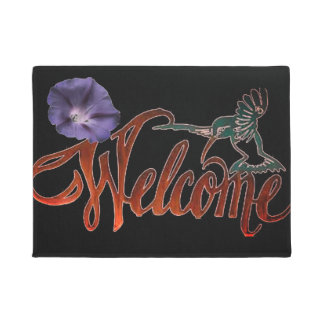 Hummingbird Welcome Doormat