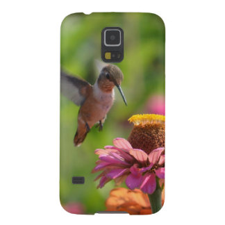 Hummingbird with Zinnias Case For Galaxy S5