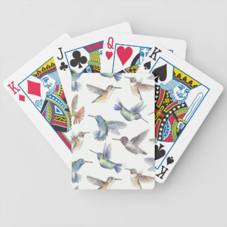 Hummingbirds Bicycle Playing Cards