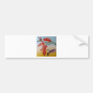 Hummingbirds Bumper Sticker