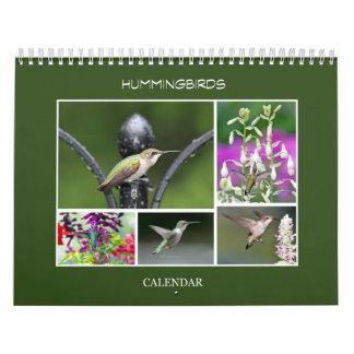 Hummingbirds Calendar