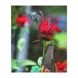 HUMMINGBIRDS- Canvas Print  - 20 x 24