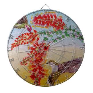 Hummingbirds Dartboard