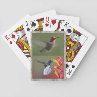 Hummingbirds Deck of Playing Cards