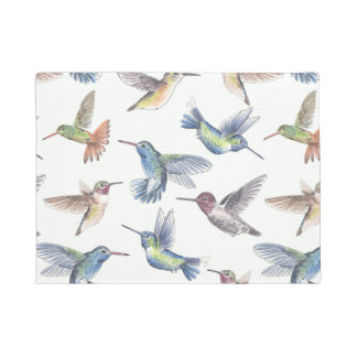 Hummingbirds Doormat