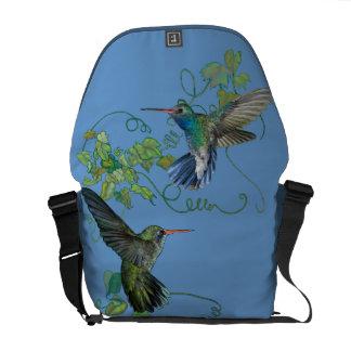 Hummingbirds Flight Messenger Bag