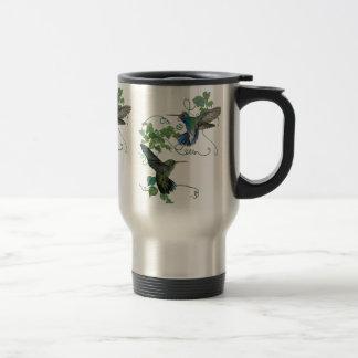 Hummingbirds Flight Travel Mug