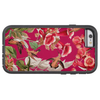 Hummingbirds Floral iPhone 6 Tough Extreme Case